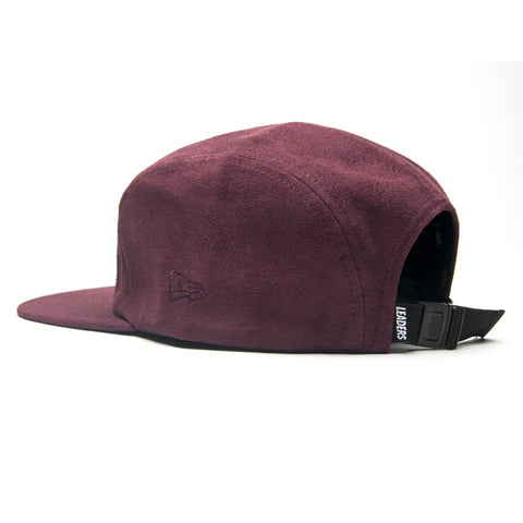 LDRS Suede 5 Panel Merlot - leaders1354