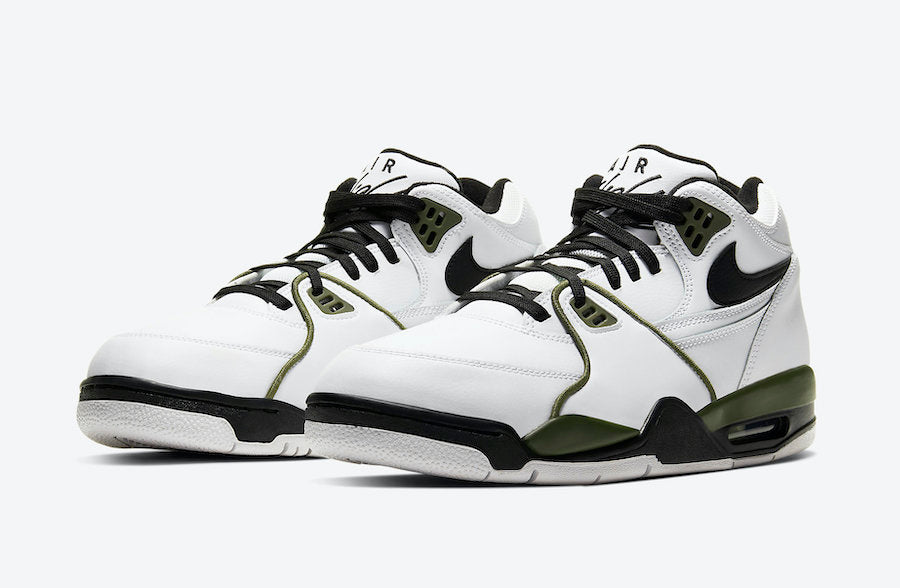 Flight '89 White/Black/Olive