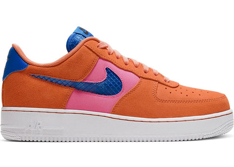 Air Force One Orange/Pacific Blue