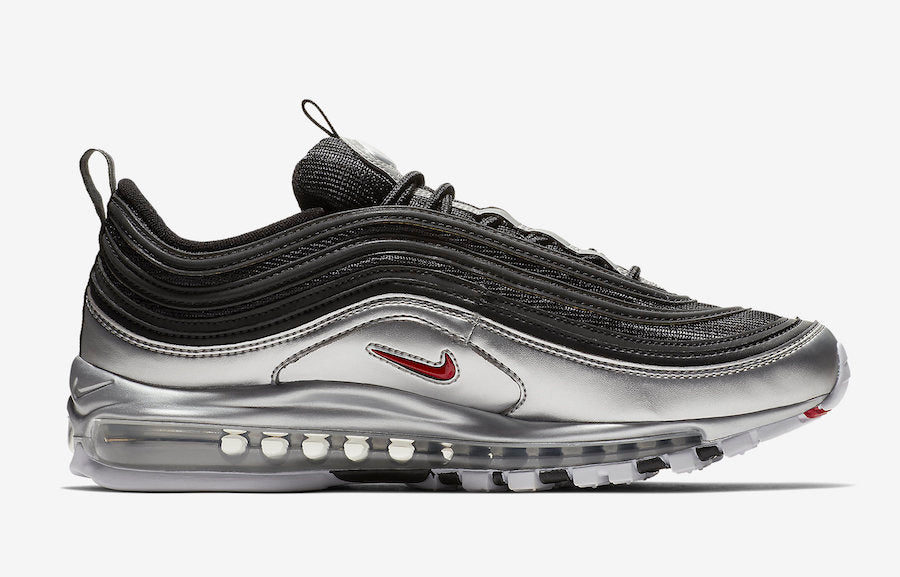 air max 97 silver nere
