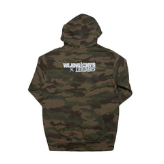 LDRS1354 X WC OUT SOUTH HOODIE CAMO