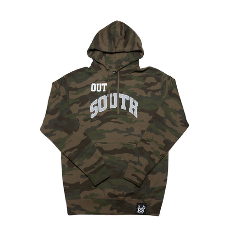 LDRS1354 X WC OUT SOUTH HOODIE CAMO - leaders1354