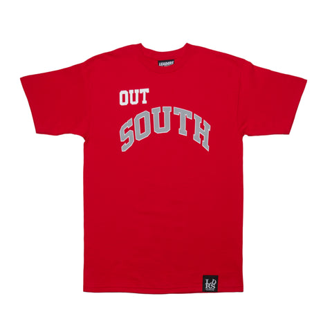 LDRS1354 X WC OUT SOUTH TEE RED - leaders1354