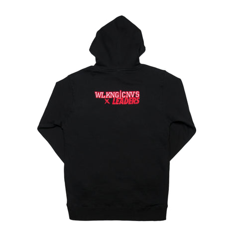 LDRS1354 X WC OUT WEST HOODIE BLACK