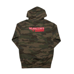 LDRS1354 X WC OUT WEST HOODIE CAMO