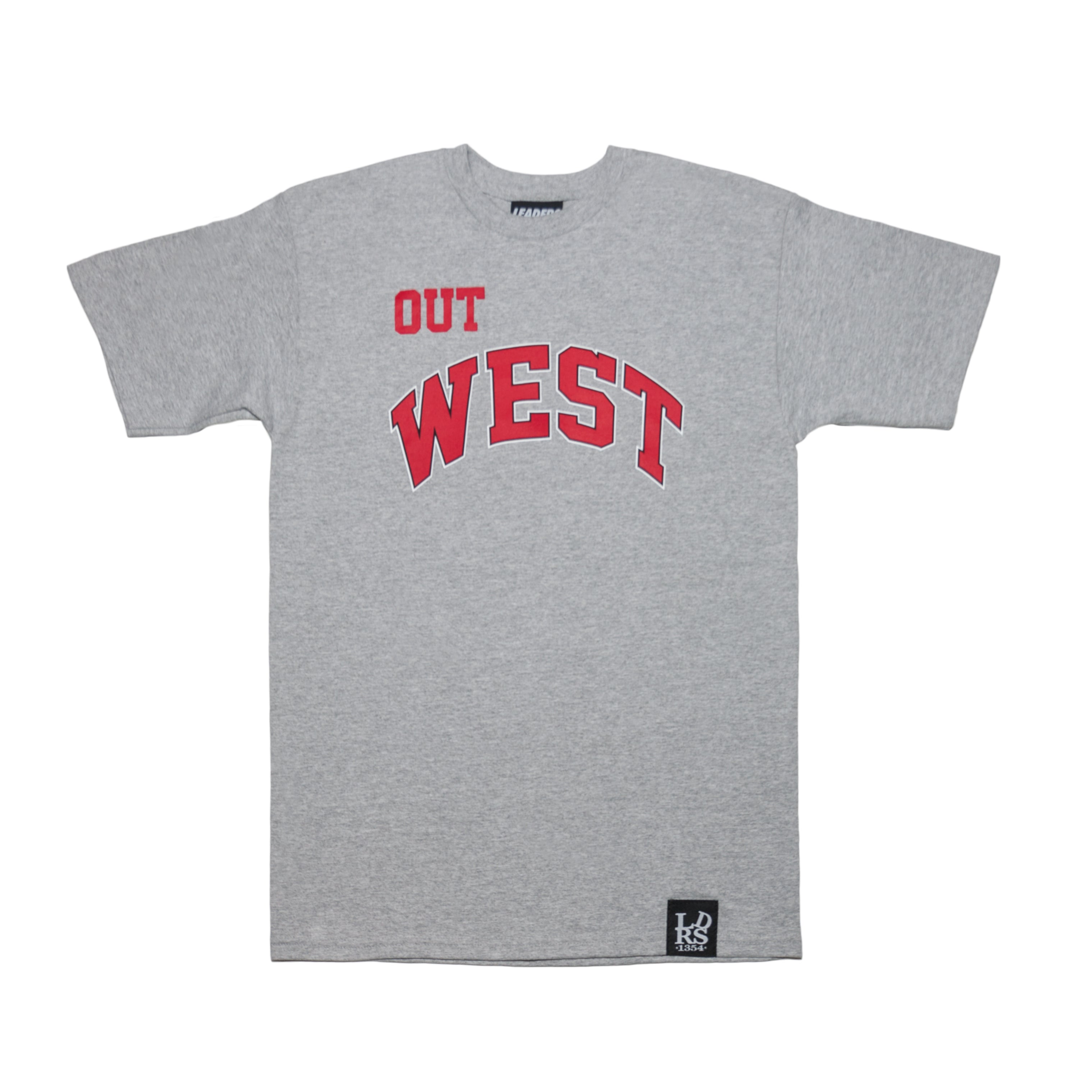 LDRS1354 X WC OUT WEST TEE GREY