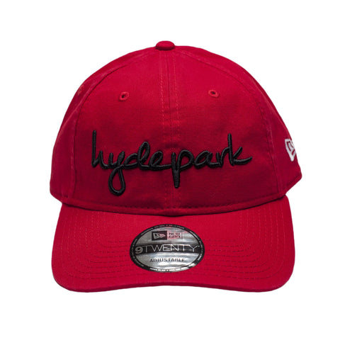 Hyde Park Dad Hat Red