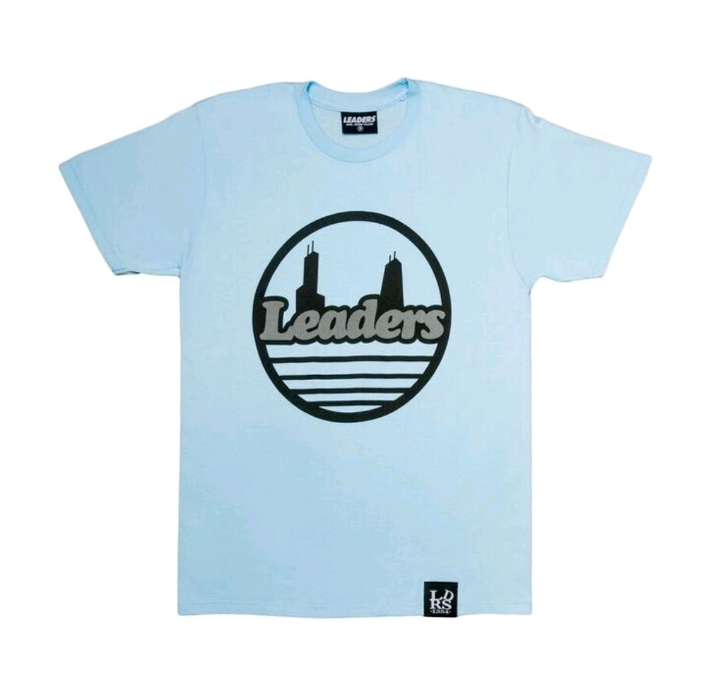 Seal Tee Powder Blue W/3M Logo
