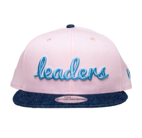 Summertime Pink/Denim Snapback - leaders1354