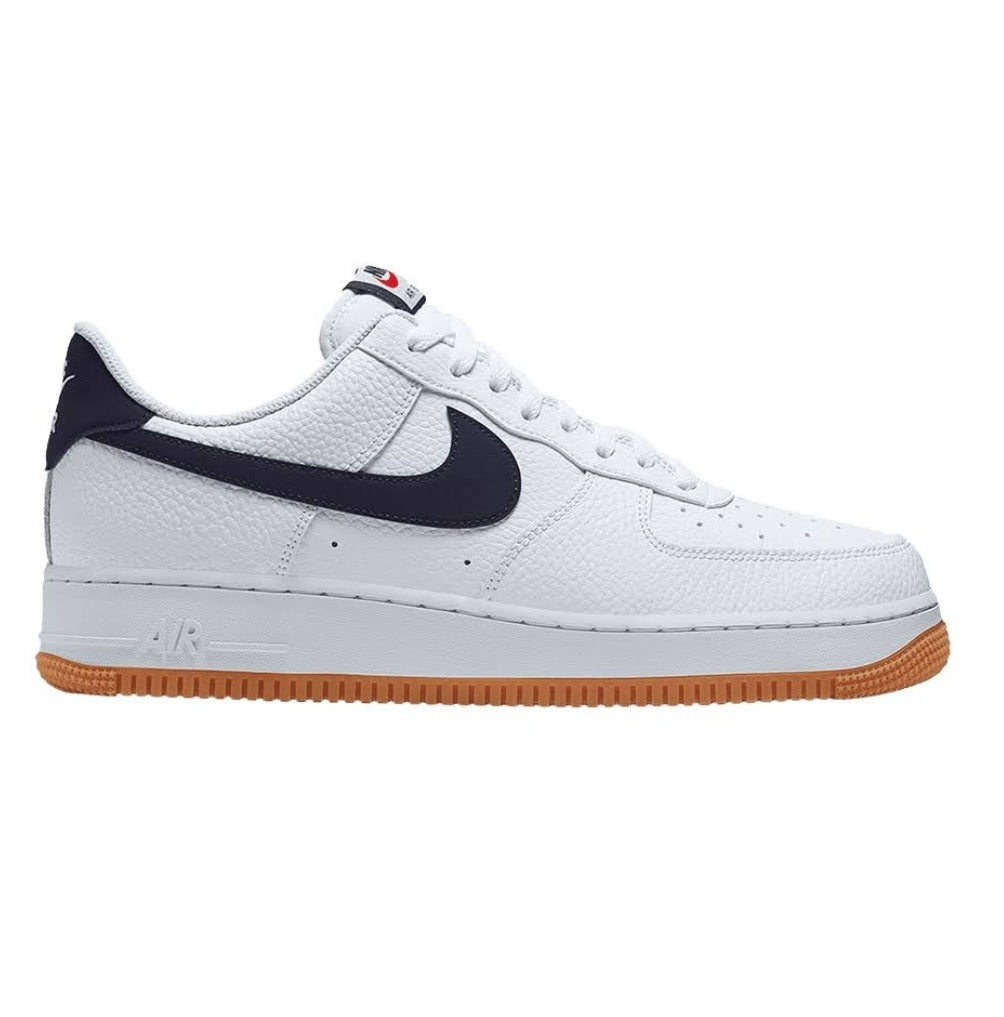 Air Force One White/Navy/Gum - leaders1354