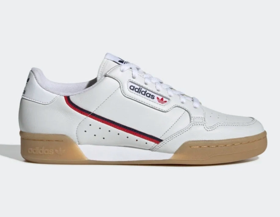 Continental 80 White/Red/Navy/Gum - leaders1354