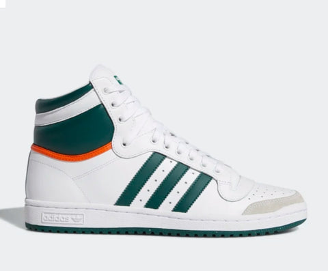 Top Ten White/Green/Orange