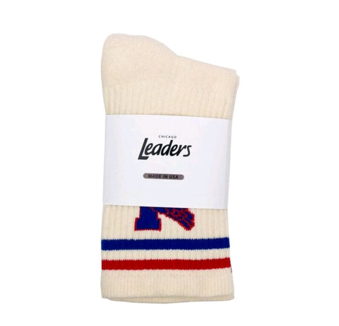 Leaders1354 Crew Socks Cream - leaders1354