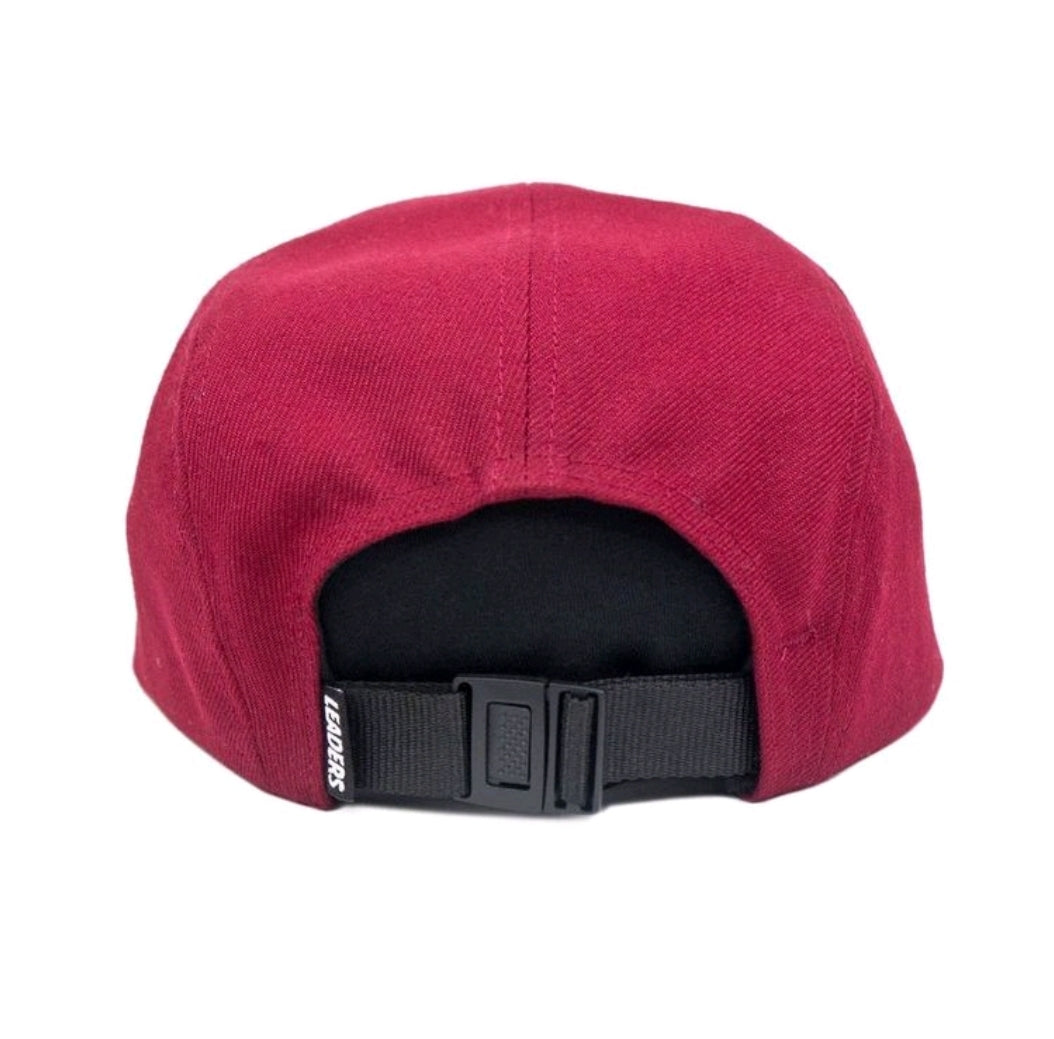 5 Panel Cardinal Red - leaders1354