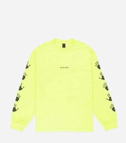Us & Them L/S Neon Yellow - leaders1354