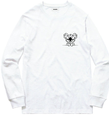 David Flores Save Australia L/S White Tee - leaders1354