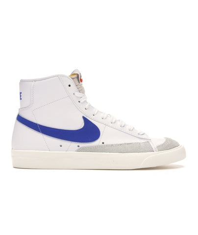 Blazer Mid '77 VNTG White/Racer Blue - leaders1354
