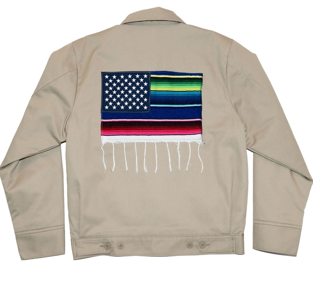 Mi Bandera Jacket Khaki - leaders1354