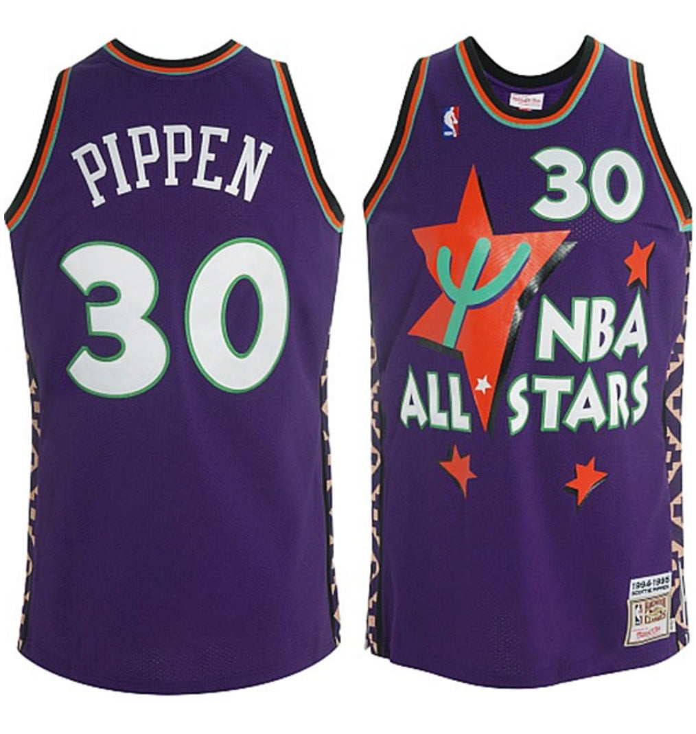 Scottie Pippen 1994-95 All-Star Swingman Jersey - leaders1354