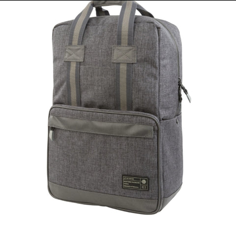 Instinct Grey Woven Convertible Backpack