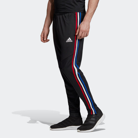 Tiro 19 Training Pant Black/Power Red/Bold Blue