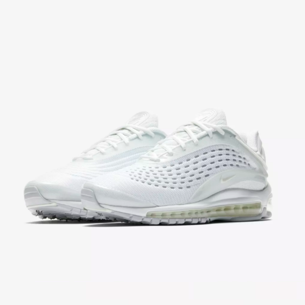 Air Max Deluxe Triple White - leaders1354