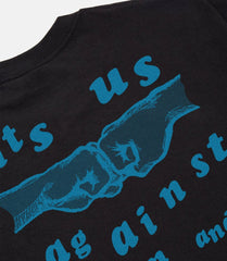 Us & Them Tee Black