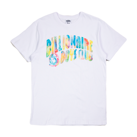 Watercolor Tee White