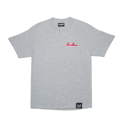 Worldwide Tee Heather Grey