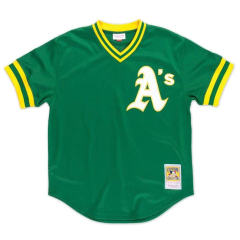 Reggie Jackson 1987 Authentic Batting Practice Jersey