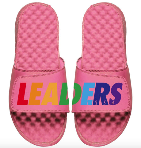 Leaders Pink Multi-Color Slides - leaders1354