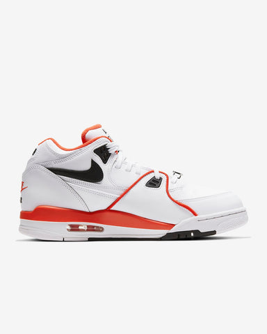 Air Flight '89 White/Black/Team Orange