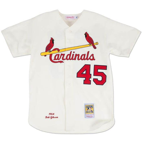 Bob Gibson 1964 Cardinals Authentic Jersey