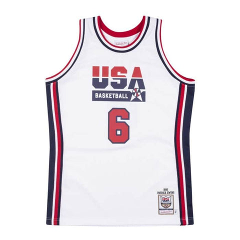 Patrick Ewing Authentic 1992 Dream Team Jersey