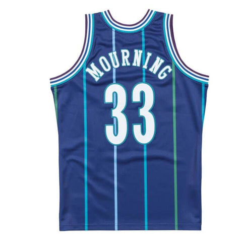 Alonzo Mourning 1994-95 Hornets Authentic Jersey