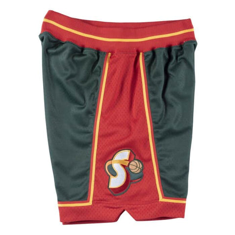 1995-96 Sonics Authentic Alternate Shorts