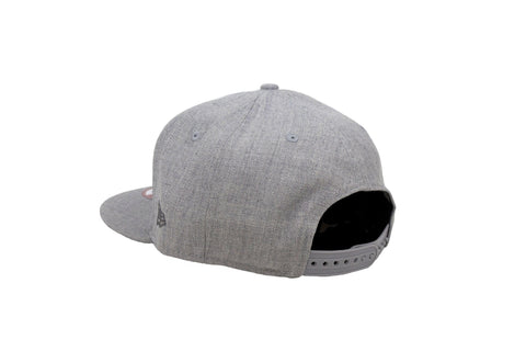 Leaders Block Light Grey Snapback