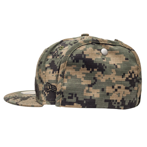 Leaders Block Full Camo Snapback