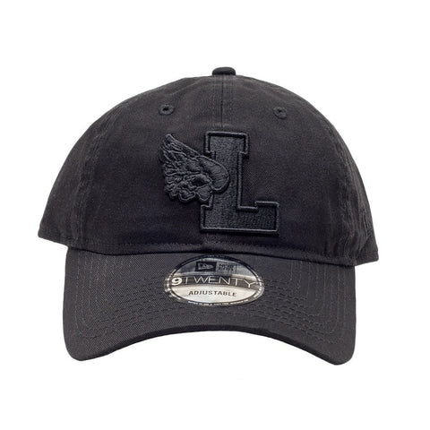L Wing Black Dad Hat