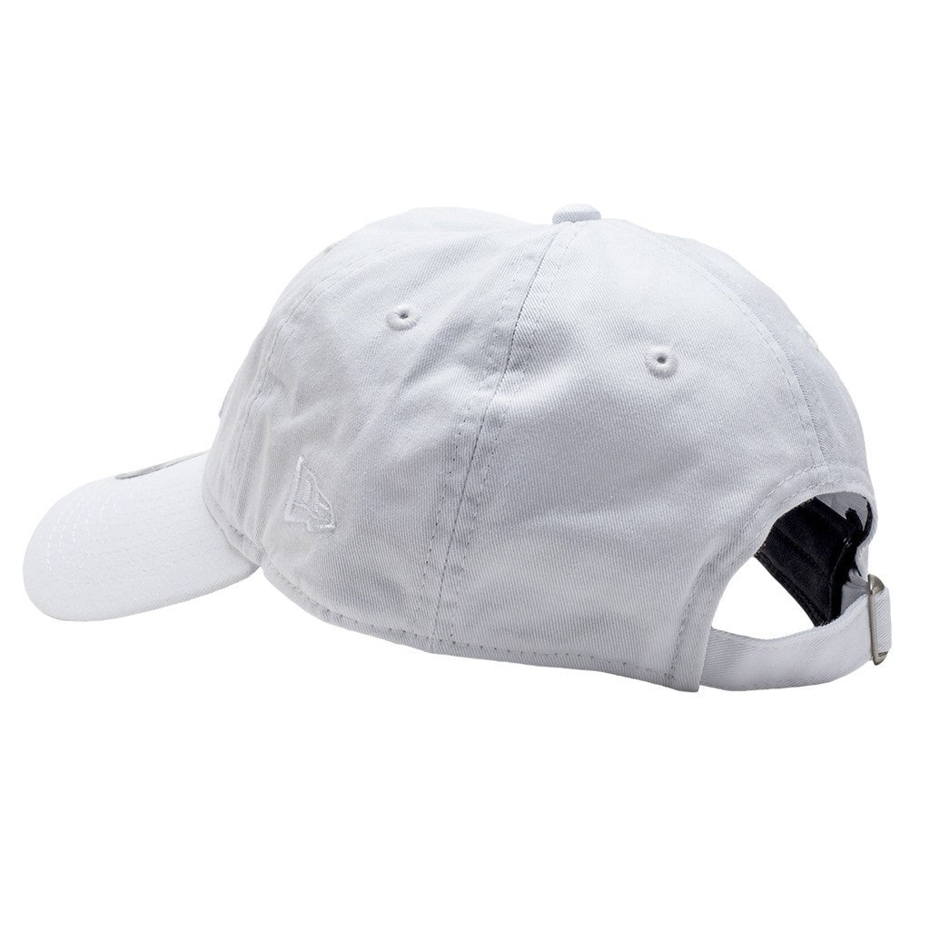 L Wing White Dad Hat