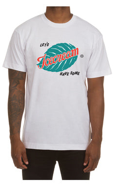 Mint SS Tee White