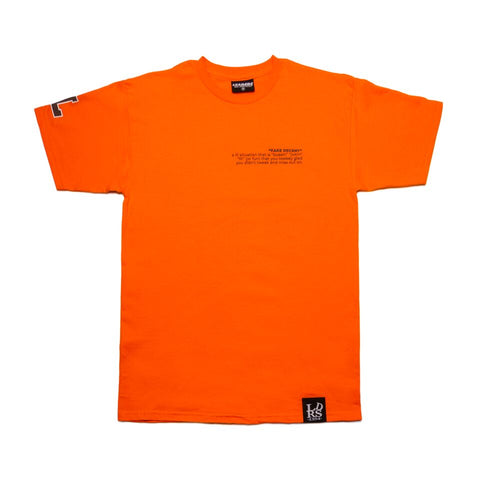 Leaders X Fake Decent Orange tee - leaders1354