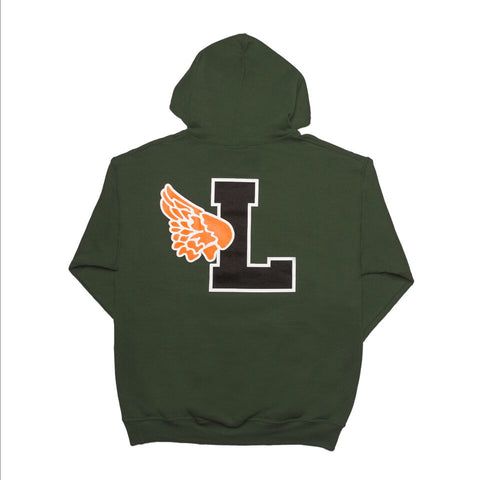Script Leaders X Fake Decent Pullover Hood Forest