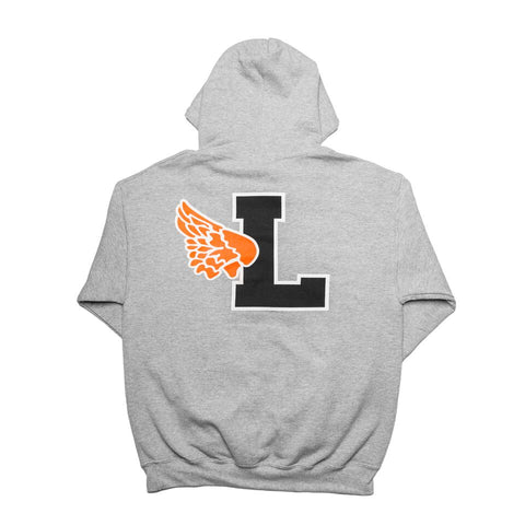 Script Leaders X Fake Decent Pullover Hood Grey