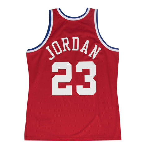 Michael Jordan Authentic  1989 All-Star Red - leaders1354