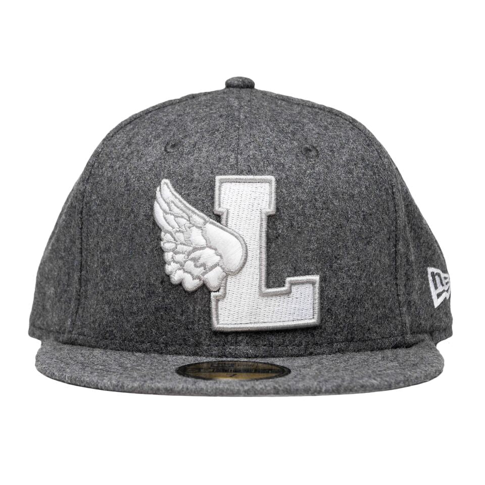 Leaders L-Wing Grey Wool Fitted Hat – Leaders 1354 cd68a830b15