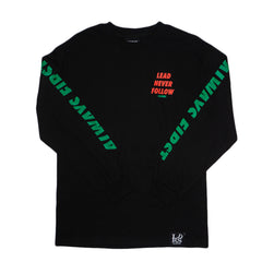 Always First Longsleeve Tee Black