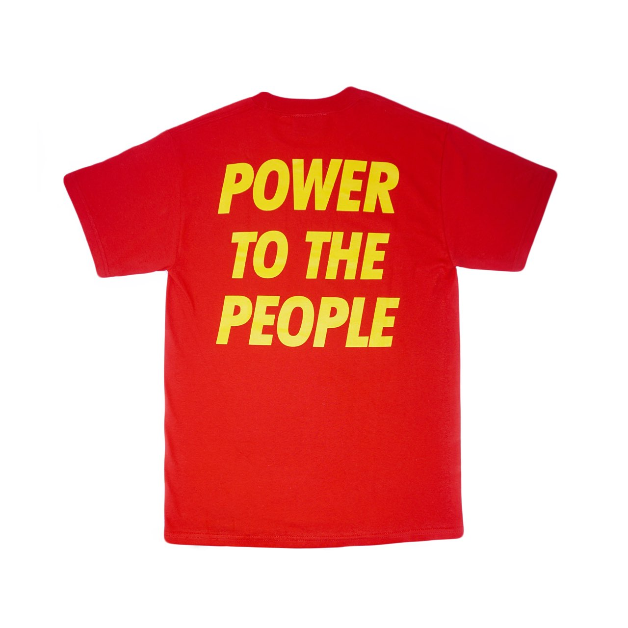 Power To The People Red