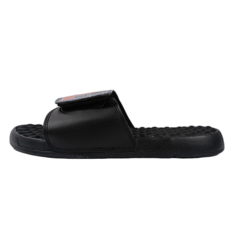 L-Wing Black Tie Dye Slides