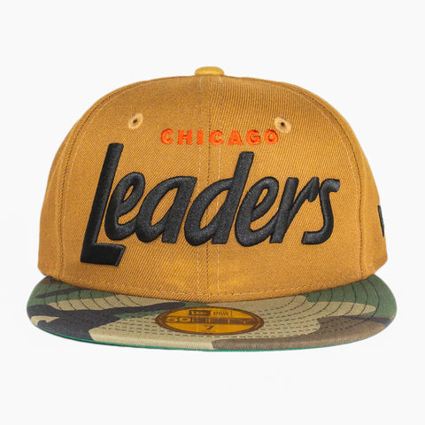 Peanut Camo Chicago Leaders Fitted Hat